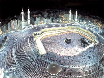 La Mecca in Arabia Saudita