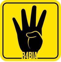 R4BIA simbolo delle proteste pro-Morsi